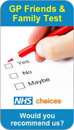 Would you recommend Westbury Medical Centre to Friends and Family?